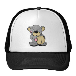 Patches the Bear Cap