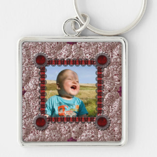 Patchwork Enthusiast Photo Frame Key Chains