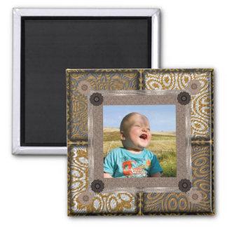 Patchwork Enthusiast Photo Frame Fridge Magnets