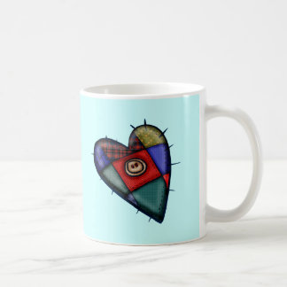 Patchwork Heart T-shirts and Gifts Coffee Mug