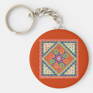 Patchwork Key Ring