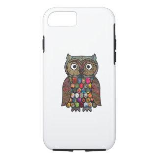 Patchwork Owl iPhone 8/7 Case