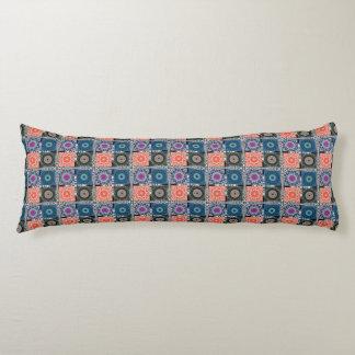 "Patchwork Pattern Cotton Body Pillow ( 20"" x 54"")"