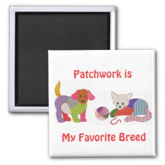 Patchwork Pride Magnet