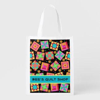 Patchwork Quilt Business Promotion Art