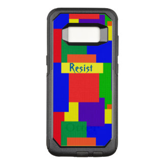 Patchwork Quilt Rainbow Resist Galaxy S8 Case