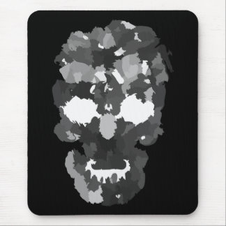 Patchwork Skull Mouse Pads