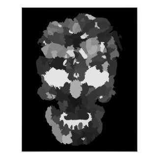 Patchwork Skull Posters
