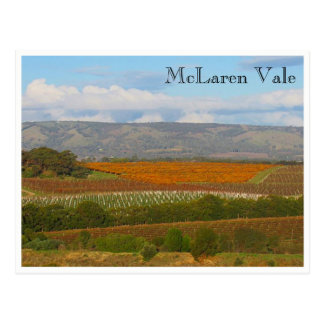 patchwork winery postcard