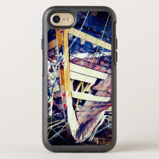 Patchwork Wooden Ship OtterBox Symmetry iPhone 8/7 Case