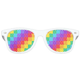 Patchworl Rainbow Party Sunglasses