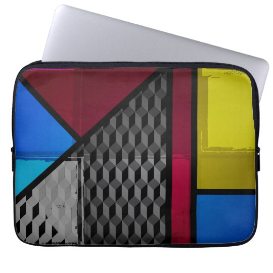 Patchy Colours Laptop Sleeve