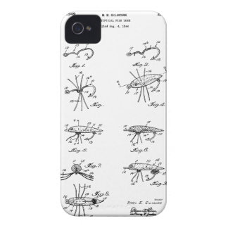 Patent Artificial Fish Lure iPhone 4 Cover