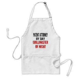 Patent Attorney Grillmaster Adult Apron