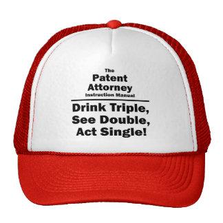 patent attorney trucker hats