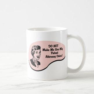 Patent Attorney Voice Mugs