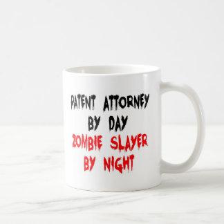 Patent Attorney Zombie Slayer Basic White Mug