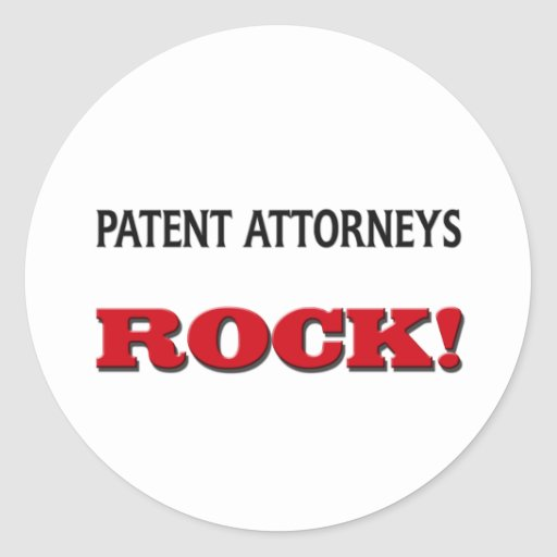Patent Attorneys Rock Stickers