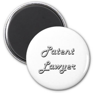 Patent Lawyer Classic Job Design 2 Inch Round Magnet