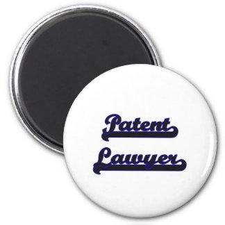 Patent Lawyer Classic Job Design 6 Cm Round Magnet