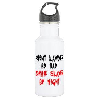 Patent Lawyer Zombie Slayer 532 Ml Water Bottle