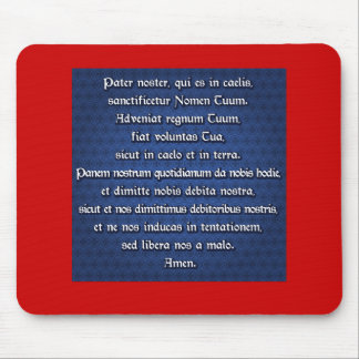 Pater Noster, Our Father Mousepad
