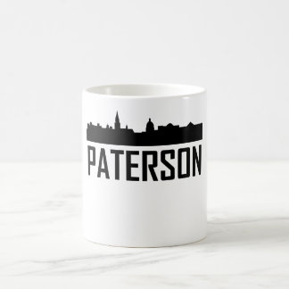 Paterson New Jersey City Skyline Coffee Mug