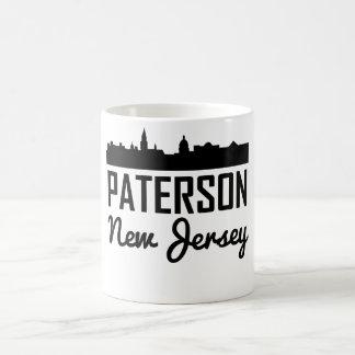 Paterson New Jersey Skyline Coffee Mug