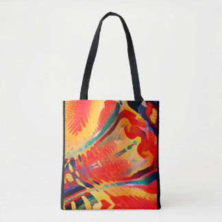 Path and Dimensionality Tote Bag