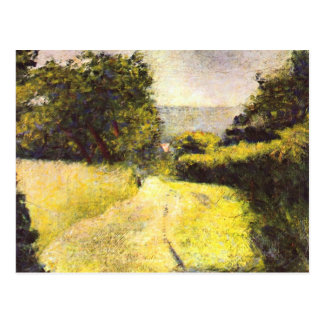 Path by Georges Seurat Postcard