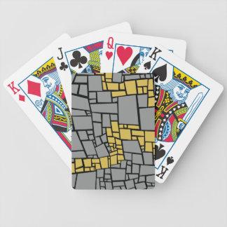 path chosen, brick road followed bicycle playing cards
