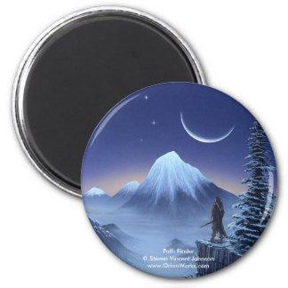 Path Finder, Path Finder Steven Vincent Johnso... 6 Cm Round Magnet