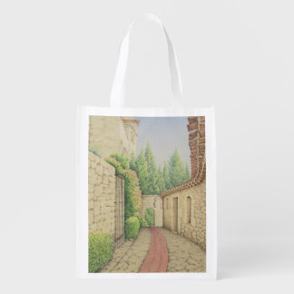 Path in Eze, Cote D'Azur France Reusable Bag