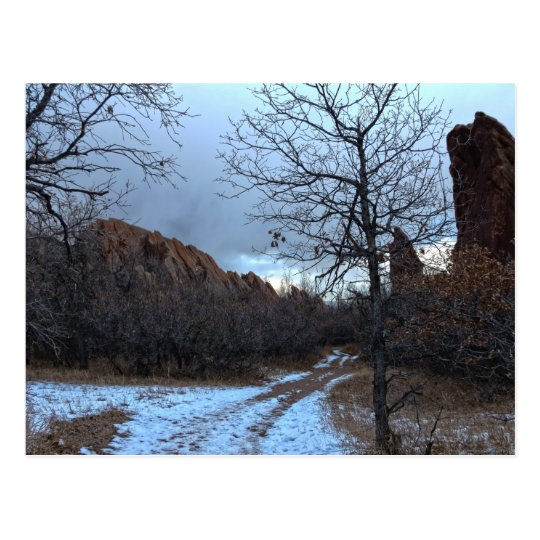 Path in Roxborough State Park Postcard