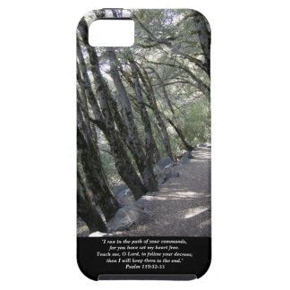 Path iPhone/iPad Case/Psalm 119:32-33 iPhone 5 Cover