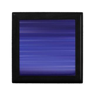 Path of blue lights gift box