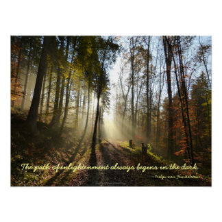 Path of Enlightenment Motivation Poster no border