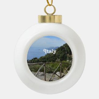 Path of Gods Amalfi Ceramic Ball Decoration