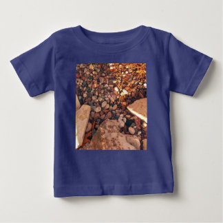 Path Of Pebbles Baby T-Shirt
