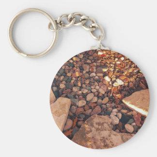 Path Of Pebbles Key Ring