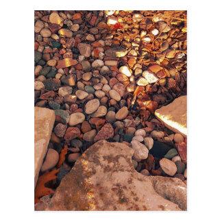 Path Of Pebbles Postcard
