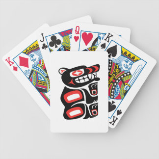 Path of Protection Bicycle Playing Cards