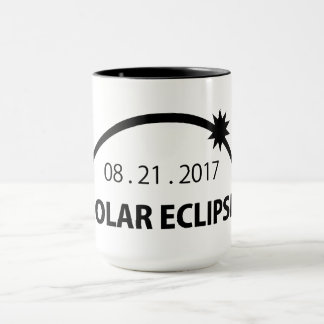 Path of Totality: Solar Eclipse Mug