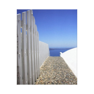 Path out to Sea Canvas Print