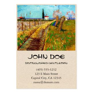 Path through a Field with Willows Van Gogh Business Card