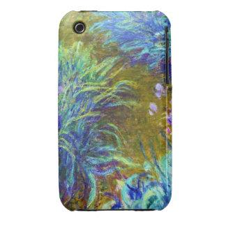Path through the Irises Claude Monet iPhone 3 Covers