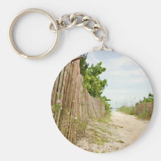 Path to Bliss on Florida Beach Key Ring