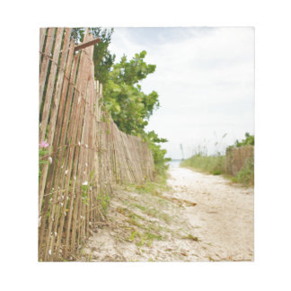 Path to Bliss on Florida Beach Notepad