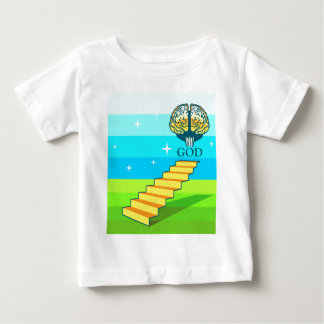 Path to God vector Baby T-Shirt