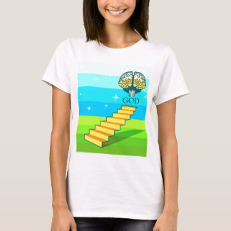 Path to God vector T-Shirt